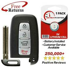 For 2011 2012 2013 2014 Hyundai Sonata Keyless Entry Smart Remote Car Key Fob