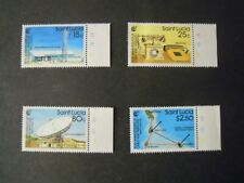 SAINT LUCIA. 50th ANNIVERSARY OF CABLE & WIRELESS. SET MNH SG.981/984