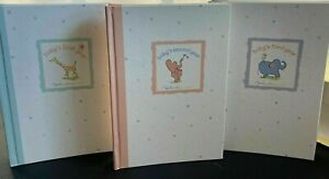 Carter's John Lennon REAL LOVE Baby Photo Albums Set of 3for Years 1, 2, and 3