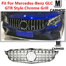 GLC AMG-style Front Grill Fit For Mercedes-Benz X253 GLC200 GLC250 GLC300 GlC450