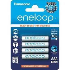 PANASONIC ENELOOP Rechargeable Ni-MH Batteries AAA 1.2V 750mAh