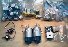 45 Mix Set Industry DC Electric Motors -Paper Feeds Model Hair Dryer Toy 5V, 12V