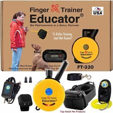 "E-Collar Technologies FT-330 FINGER EDUCATOR ""New Innovation"" CAR CHARGER Free!!"