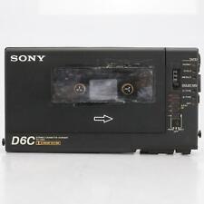 Sony Walkman Professional WM-D6C Cassette Player/Recorder T Bone Burnett #41428