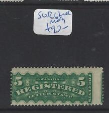 CANADA (P1206B) REGISTER STAMP 5C  SG R6 FULL MOG  EXTREMELY FRESH