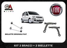 Bracci Fiat Panda 169 1.2 1.3  4X4 kit 2 braccetti + 2 biellette originali FIAT