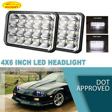 For Chevrolet C4500 C5500 C6500 C7500 Kodiak 4x6Inch LED Headlights H/Lo Sealed