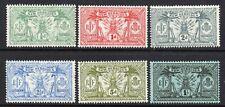 New Hebrides 1911 KGV p/set (6v wmk MCCA mint