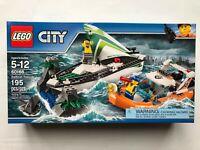 LEGO City Sailboat Rescue 60168 - Retired New Sealed