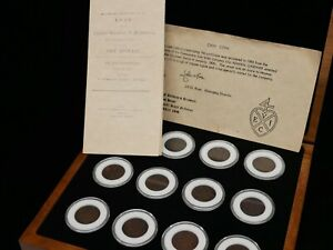 1808 East India Co. Box of 12 Coins - Gardner Shipwreck w/ Tegg Print & Cert.