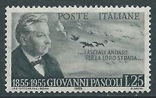 1955 ITALIA PASCOLI MNH ** - B6-4