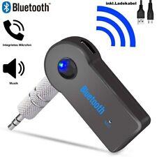 Bluetooth Audio Adapter KFZ Receiver AUX Kabel Auto 3.5mm Klinke Empfänger (NEU)