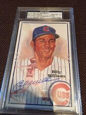 New listing Billy Williams Chicago Cubs Autograph