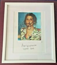 More details for amy winehouse hand written signed photo in frame from 2006