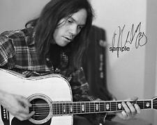 NEIL YOUNG REPRINT 8X10 AUTOGRAPHED SIGNED PHOTO PICTURE COLLECTIBLE RP