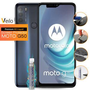 Liquid Glass Screen Protector Motorola Moto G50 Nano-Tech Shield