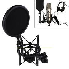Professional Mikrofonspinne Mic Shock Mount Mit Popschutz