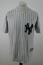 More details for mejstic baseball ny #36 striped jersey size 48