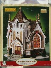 LEMAX NOËL Edifice Illuminé Little River Church 45069 Village Collection