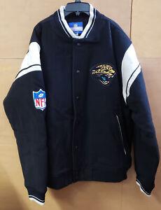 Reebok NFL Men's Jacksonville Jaguars On Field Team Varsity Jacket, Large