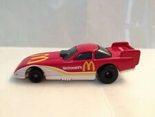 McDonalds Happy Meal 1993 Hot Wheels #6 Funny Car red white