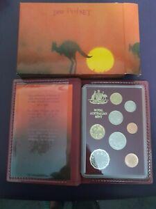 1989 Royal Australian Mint 8 Coin Proof Set NEW