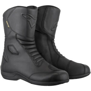 Alpinestars Web Goretex Waterproof Motorcycle Motorbike Touring Boot - Black