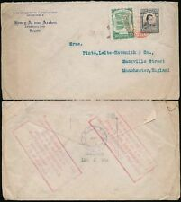 Used Air Mail Colombian Stamps