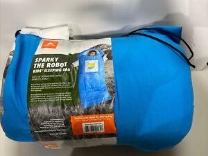 Ozark Trail Sparky the Robot Kids Sleeping Bag Used