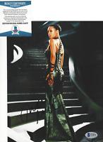 THANDIE NEWTON SIGNED 'WESTWORLD' 8x10 PHOTO B SEXY ACTRESS BECKETT COA BAS