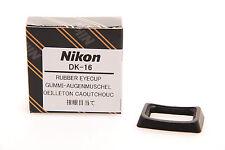Genuine Nikon Part Dk-16 DK 16 Rubber Viewfinder Eyecup for D40 D40x D70 F55