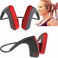 Bone Conduction Headphone Bluetooth Headset Stereo Earphone for iPhone Samsung