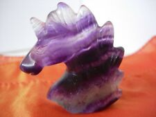 unicorn carving small fluorite u 2