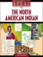 Atlas of the North American Indian by Carl Waldman (2009, Paperback, Revised)