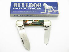 VTG 1997 BULLDOG BRAND SOLINGEN CANOE FOLDING POCKET KNIFE CELLULOID