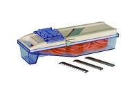 BENRINER Vegetable Slicer w/ Catch Box 64mm,Thickness 0.3-5mm,Interchange Blades
