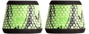 2 Winn Fishing Reel Grip Sleeves Slant Type GSST-CTB Chartreuse & Black Camo
