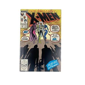 Uncanny X-Men #244 marvel 1989 copper age comic! 1ST JUBILEE!!!