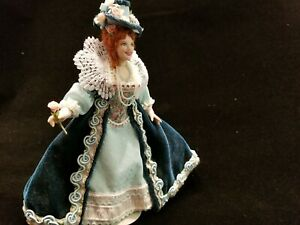 """1:12 scale Dollhouse Doll Artist created! """"Milady"""" By P. Stinson OOAK"""