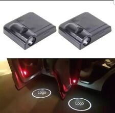 2x Wireless LED Courtesy Car Logo Door Ghost Shadow Projector Light For Jeep