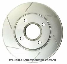 Stoptech Sport Slotted REAR Brake Discs - 94-98 Impreza Classic 2.0 Turbo 266mm