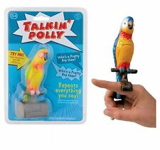 Parlando Polly parlando Parrot Bird Toy Records & ripete Bambini Novità Divertente Regalo