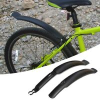 Mountain Bike Mudguards Kit Mtb Cycling Bicycle Front+Rear Lengthen Fender New U