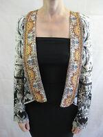 Camilla Franks Kaftan Unguarded Virtue Size 1 Silk Jacket (Aus size 8 10 12)