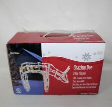 "SEARS Simply Christmas ""24"" LIGHTED GRAZING DOE"" Indoor/Outdoor Lighted Decor"