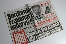 BILDzeitung 05.01.1994 Januar 5.1.1994 Geschenk 27. 28. 29. 30. Geburtstag