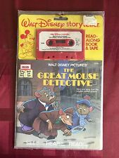 Disney The Great Mouse Detective Read-Along Golden Book Cassette
