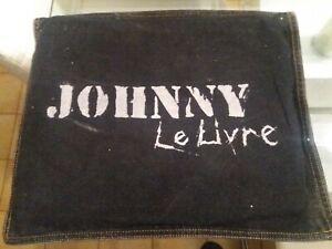 ***Johnny Hallyday - Le livre métal (pochette jeans neuve jamais décousue)*