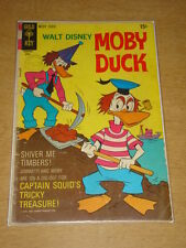 MOBY DUCK #9 G- (1.8) GOLD KEY COMICS APRIL 1970