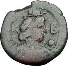 HADRIAN 117AD Obol Alexandria Egypt RARE Ancient Roman Coin HARPOCRATES i65015